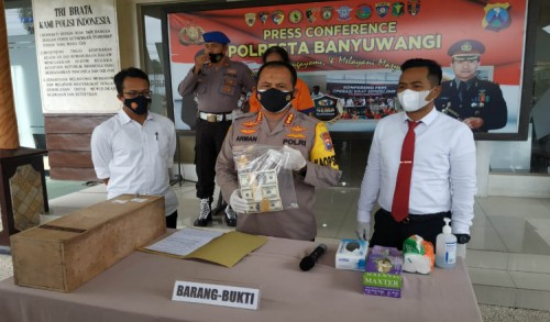 Polresta Banyuwangi Sita Tambahan BB dan 1 Tersangka Baru Kasus Peredaran Uang Palsu