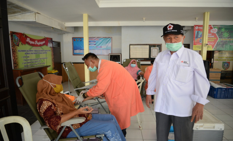 PMI Jombang Jemput Bola Dengan Donor Darah di Kelurahan Kaliwunggu