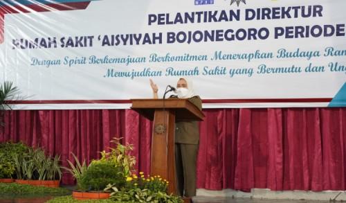 Ini Yang disampaikan Bupati Bojonegoro Saat Hadiri Pelantikkan Direktur RS Aisyiyah Periode 2021-2025