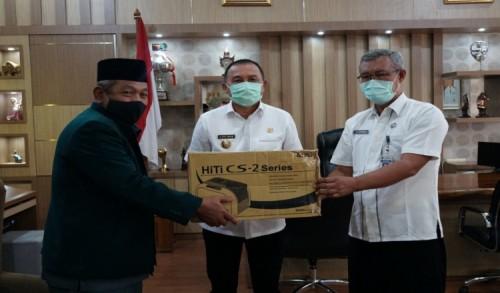 PCNU Purworejo Mendapat Bantuan Alat Cetak Kartanu