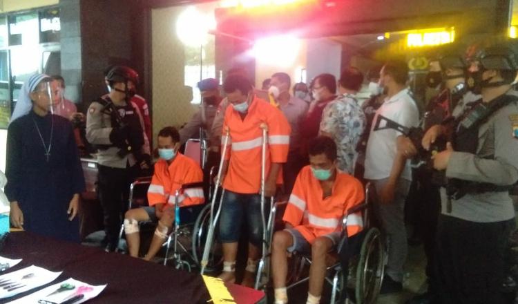Polresta Malang Kota Berhasil Tangkap Pelaku Pencurian Spesialis Mobil Bak Terbuka
