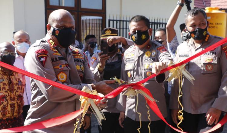 Resmikan Leb PCR RS Bhayangkara, Kapolda Papua: Selain Anggota Polri, Kami Juga Layani Masyarakat