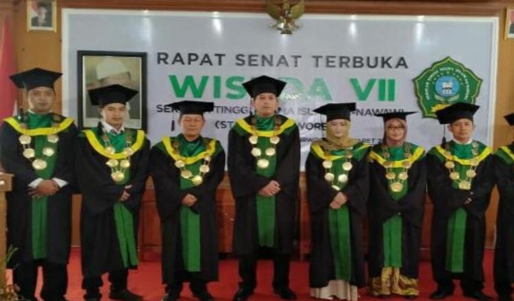 Sebanyak 135 Mahasiswa STAIAN Purworejo Ikuti Wisuda ke - 7