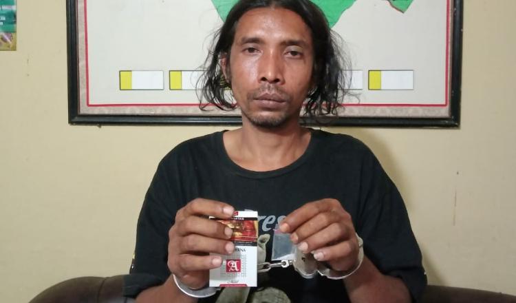 Seorang Petani di Sumenep Diringkus Polisi Saat Hendak Transaksi Narkoba