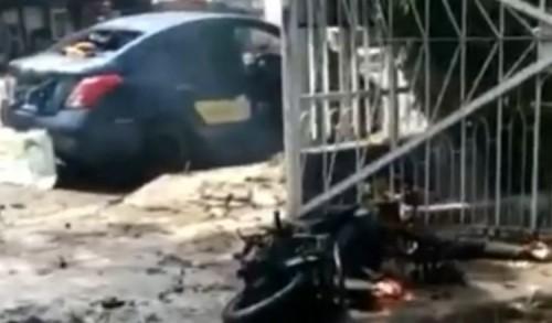 Ledakan Bom Bunuh Diri di Kota Makassar, Potongan Tubuh Manusia Berserakan