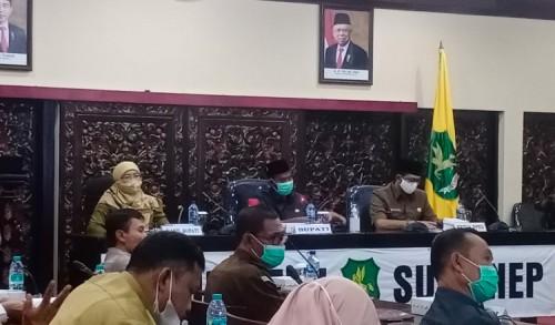 Bupati Sumenep Bocorkan Program Unggulannya di Tahun 2022 Dalam Acara Musrenbang RKPD
