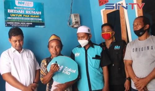 Korban Banjir Bandang Terima Program Bedah Rumah