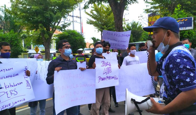 Forum Wartawan Tuban Minta Polda Jatim Usut Tuntas Kekerasan Wartawan di Surabaya