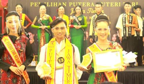 Bawa Tari Amoi, Gadis Asal Tuban Raih Juara Favorit Putera Puteri Tari se-Jatim