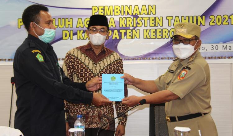 Kemenag Papua: Penyuluh Agama Garda Terdepan Untuk Wujudkan Toleransi Umat Beragam