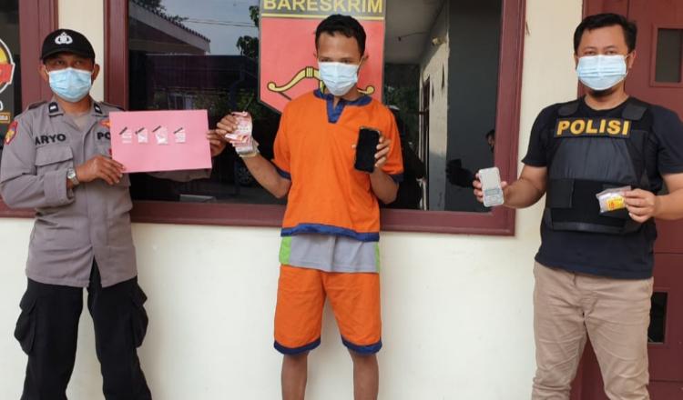 Nyamar Masuk Jaringan Narkoba, Polisi Gresik Ringkus Seorang Pengedar