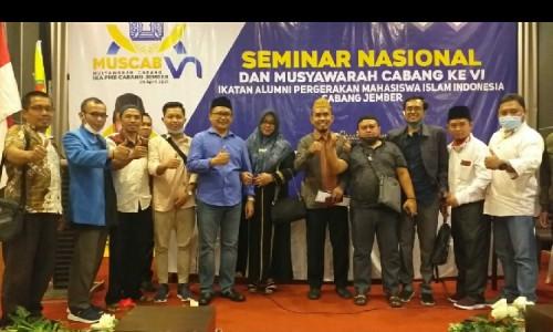 Komitmen Nata Barisan Alumni PMII, Cak Hadi Terpilih jadi Ketua PC IKA PMII Jember