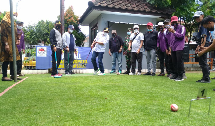Jajal Olahraga Gateball, Wali Kota Malang: Susah Tapi Menarik