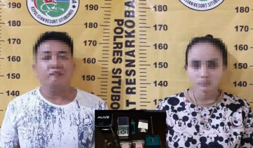 Polres Situbondo Tangkap Dua Tersangka Pengguna Narkoba, Satu Diantaranya Penyanyi Lokal