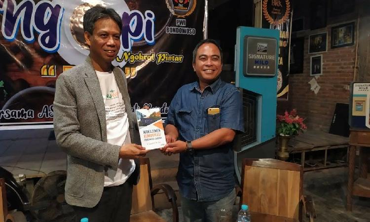 Bawa Visi Rangkul Semua Insan Pers, Sugiyanto Dipastikan Nyalon Ketua PWI Bondowoso