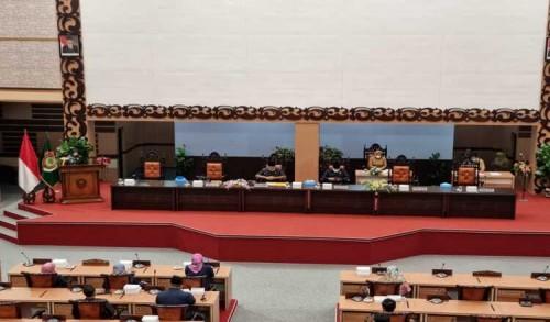 Paripurna DPRD Kabupaten Mojokerto Agendakan Jawaban Bupati Atas Pandangan Umum Fraksi Terhadap 3 Raperda