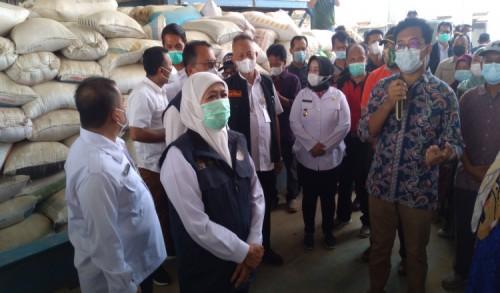 Khofifah: Produktivitas Panen Padi di Ponorogo Tertinggi di Jawa Timur