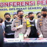 187  Pelaku Kriminalitas, Dibekuk Dalam Operasi Pekat Polres Jombang