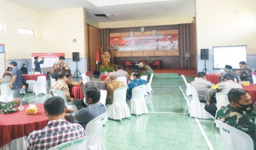 Pimpin FGD, Bupati Blitar Minta Masyarakat Tetap Disiplin Patuhi Prokes Selama Ramadhan 1442 H