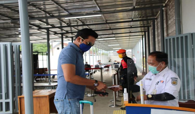 Stasiun Kutoarjo Purworejo Resmi Turunkan Harga Rapid Test Antigen