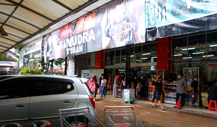 Forum LLAJ Sebut Supermarket di Tuban Ini Belum Kantongi Izin Andalalin