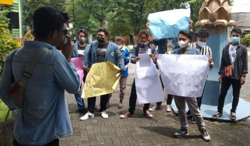 Mahasiswa Unitomo Demo Rektorat, Ada Isu Dugaan Penjualan Aset Kampus