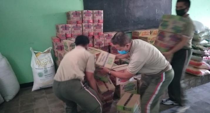 Kodim 0823 Situbondo Siap Kirim Sembako, Untuk Korban Banjir Bandang di NTT