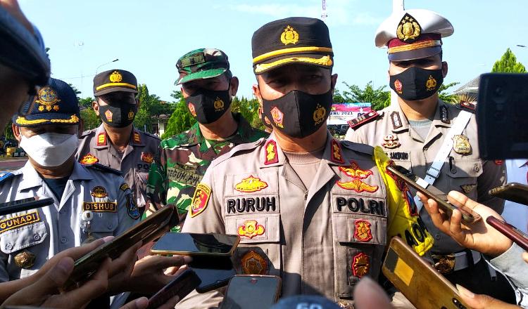 Operasi Keselamatan Semeru, Polres Tuban Tegaskan Larangan Mudik Lebaran