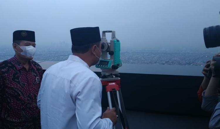 Hilal Tak Terlihat di Surabaya, Faktor Utama Karena Cuaca