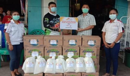 MPM Honda Salurkan Bantuan untuk Korban Bencana di NTT