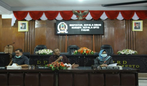 Rekomendasi DPRD Terkait Pengelolaan Pasar Tanjung Anyar Mojokerto