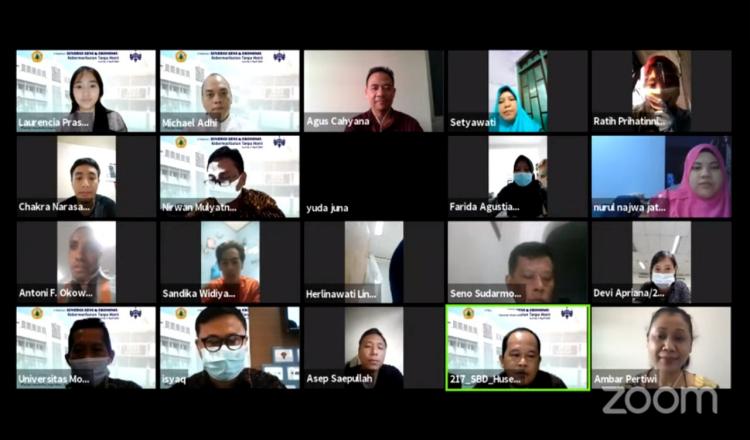 Bangun Ekonomi Kreatif Lewat Seni, Universitas Moestopo dan ISBI Bandung Gelar Diskusi Virtual