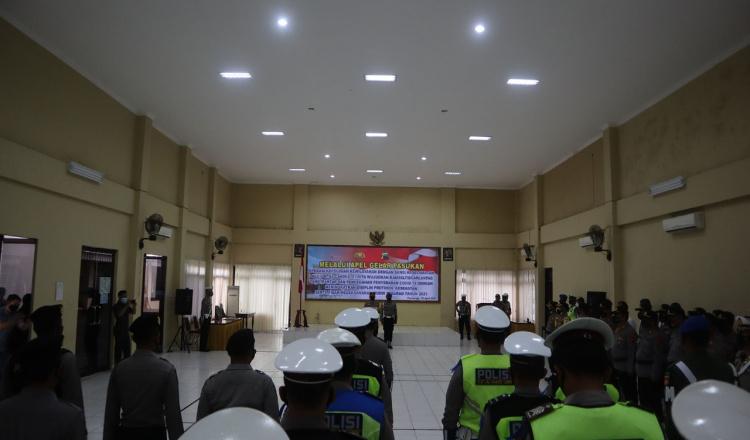 Polres Purworejo Siap Laksanakan Operasi Keselamatan Candi 2021