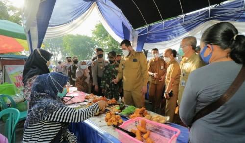 Bazar Ramadlan Digelar Pemkot Probolinggo, Ekonomi Diharapkan Pulih