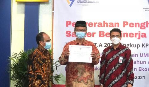 UIN Malang Raih Penghargaan dari KPPN Sebagai Satker Terbaik Kategori BLU