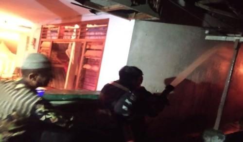 Diduga Korsleting Listrik, Satu Rumah di Situbondo Terbakar