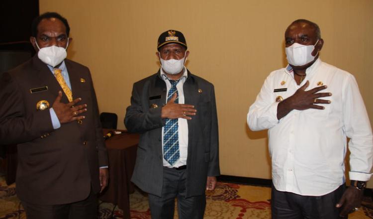 Tiga Bupati di Papua Dorong Pembentukan Asosiasi Kepala Daerah Wilayah Perbatasan RI-PNG