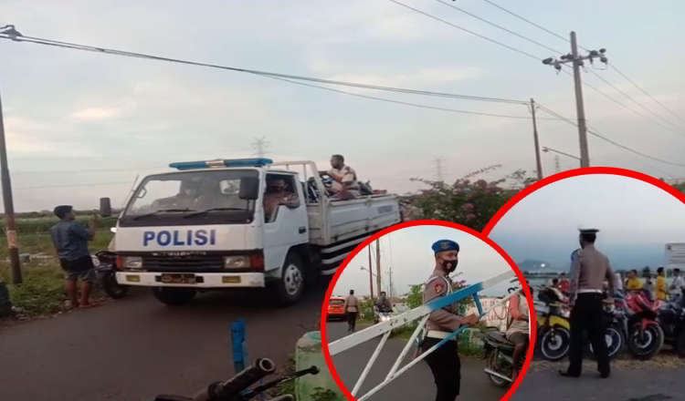 Pasca Tawuran Kelompok Remaja, Polisi Gelar Razia Ranmor Besar-besaran di Probolinggo