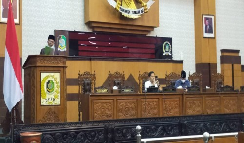 Pembahasan Tiga Raperda Inisiatif Digelar, Bapemperda DPRD Banyuwangi Sampaikan Progres