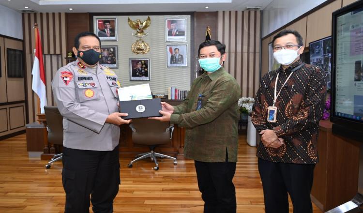 PT PLN Unit Kalsel dan Kalteng Berkunjung ke Kapolda, Ini yang dibahas!