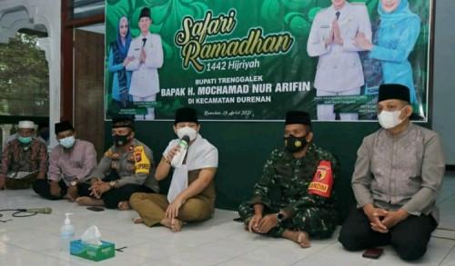 Gelar Safari Ramadhan, Gus Ipin Ingatkan Kepedulian Terhadap Sesama