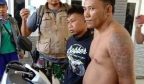 Pencuri Motor Bertato asal Jember, Tumbang di Tangan Warga Bondowoso