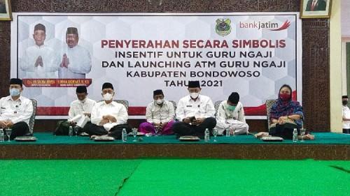 Dikemas Buka Puasa Bersama, Pemkab Bondowoso Launching ATM Insentif Guru Ngaji