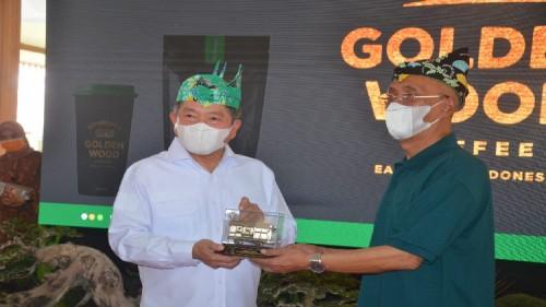 Temui Menteri PPN di  Situbondo, Bupati Bondowoso Minta Dukungan Pengembangan Ijen Geopark