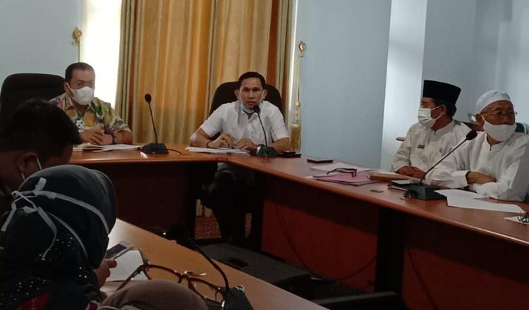 Rapat Evaluasi Penanganan Covid-19 di Mukomuko, Ketua Dewan: Penanganan Masih Lemah