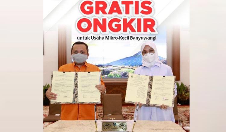 Perluas Jangkauan Pasar UMKM di Banyuwangi, Ongkir ke Seluruh Indonesia Ditanggung Pemkab