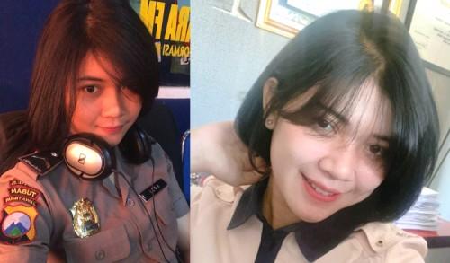 Sering Digoda Remaja, Perempuan Berparas Cantik Ini Ternyata Seorang Polisi