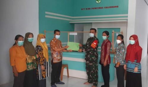 Dukung Kegiatan KB Kesehatan, Koramil 0909-06/Bengalon Terima Penghargaan