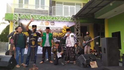 Peringati Harlah, GP Ansor Jember Nge-Rock