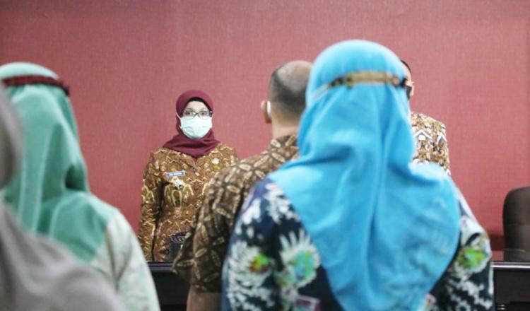 Bupati Blitar Rini Minta Surat Edaran Tentang Kegiatan Ibadah di Bulan Ramadhan dan Idul Fitri Dijalankan Maksimal